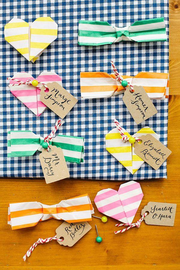 すべての折り紙 折り紙 席札 : をしたい女子に必見!!折り紙 ...